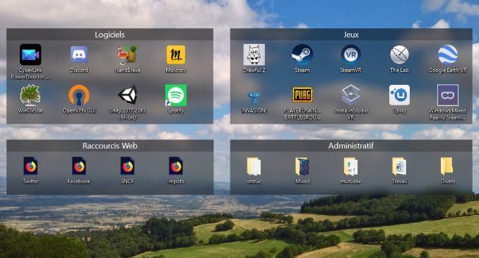 Comment avoir une organisation carrée de votre bureau windows